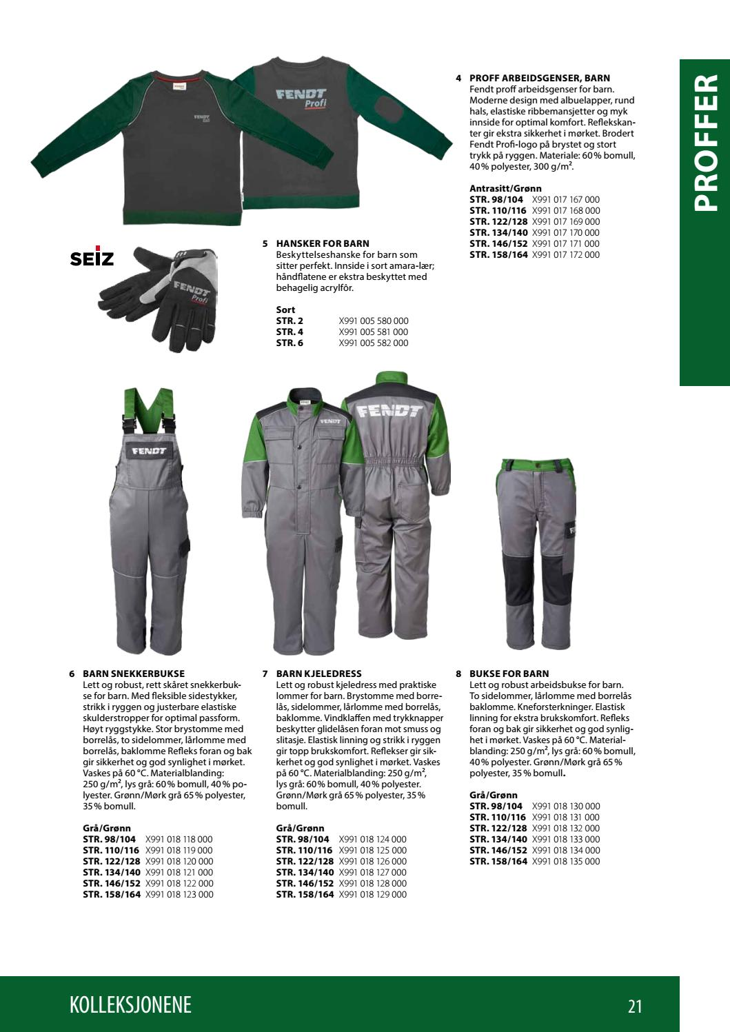 e0778319 Fendt Collection 2018-19 (NO) by AGCO Merchandise - issuu