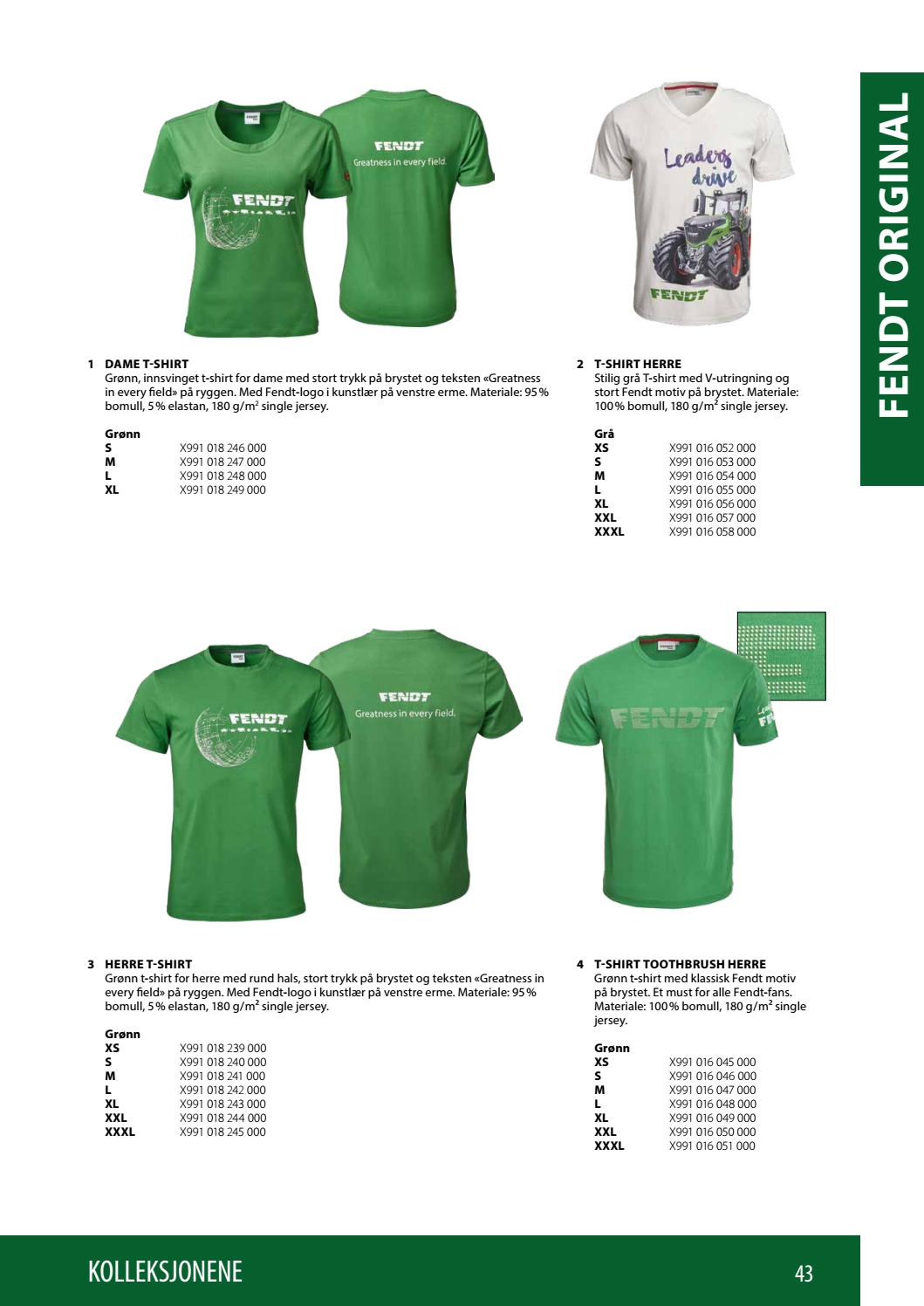 240e2c4a Fendt Collection 2018-19 (NO) by AGCO Merchandise - issuu