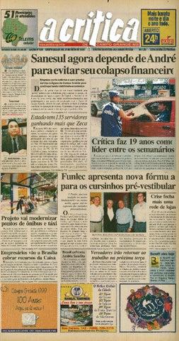 3f86f3e6fc241 Jornal A Crítica - Edição 936 - 31 07 1999 by JORNAL A CRITICA - issuu