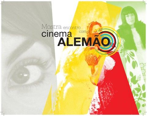 Catálogo da Mostra de cinema Encontro com o Cinema Alemão