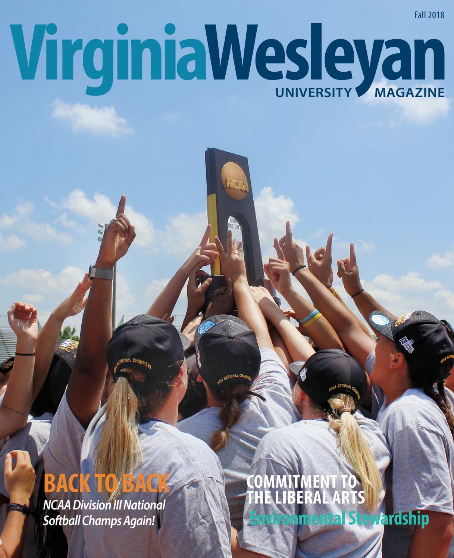 Virginia Wesleyan University Magazine Fall 2018 by