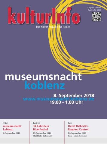 Kulturinfo September 2018 By Kulturverlag Gunther Schmitz Issuu