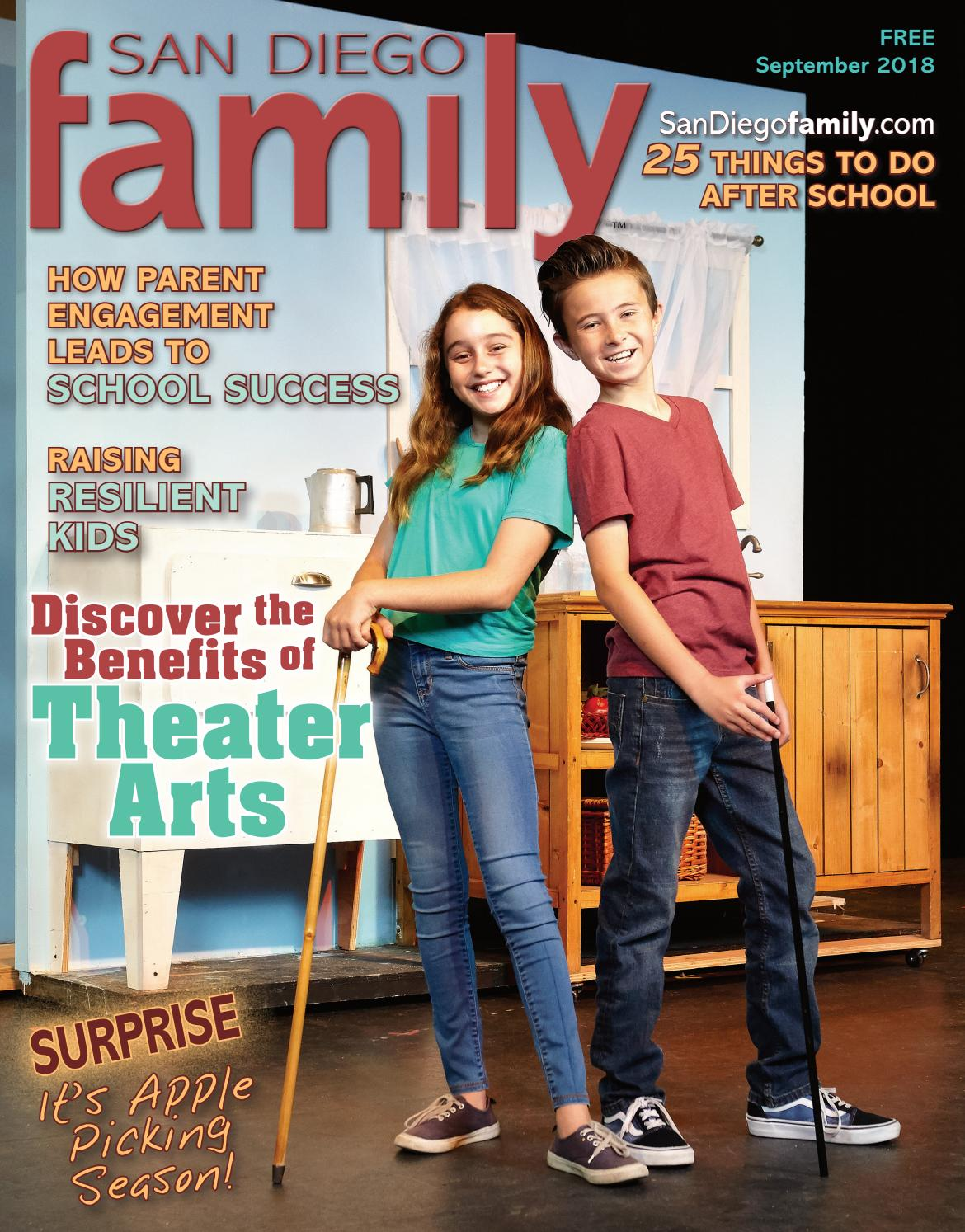 San Diego Family Sept Issue By Magazine Issuu Selis Youth