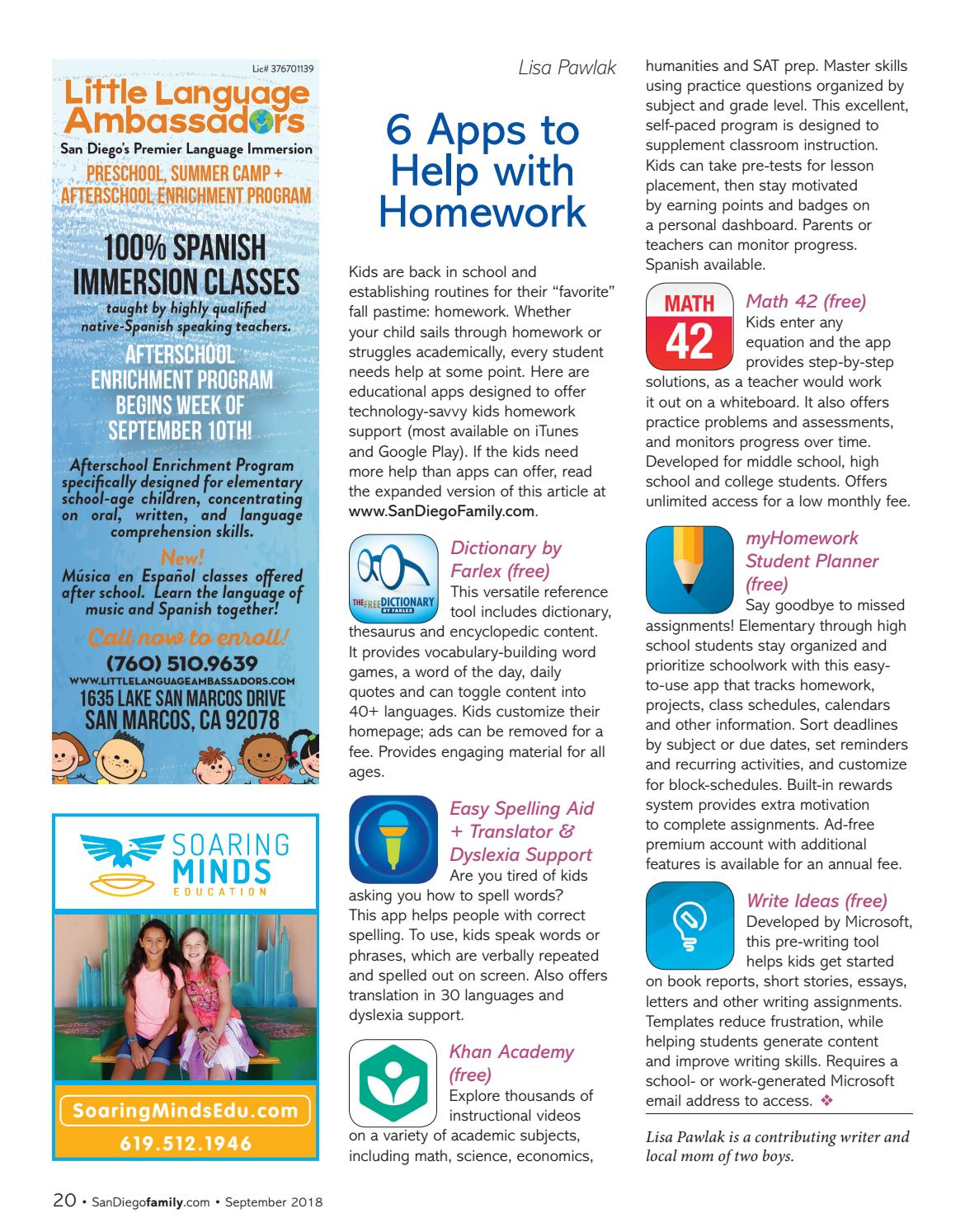 San Diego Family Sept Issue by San Diego Family Magazine - issuu
