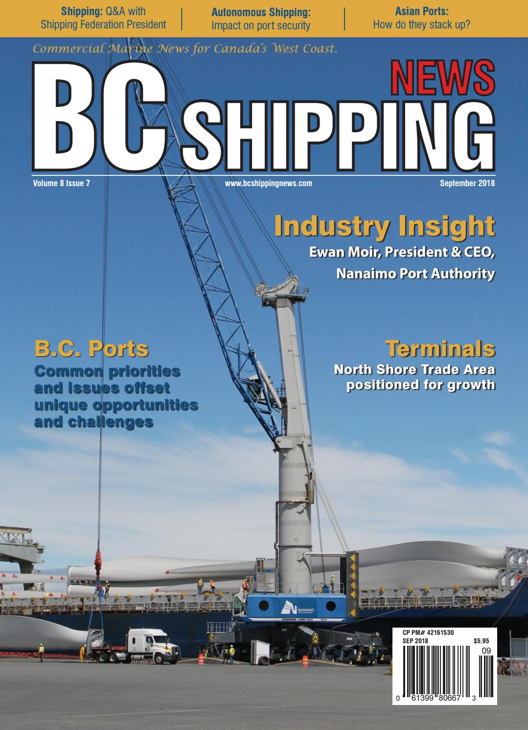 BC Shipping News September 2018 by BC Shipping News issuu