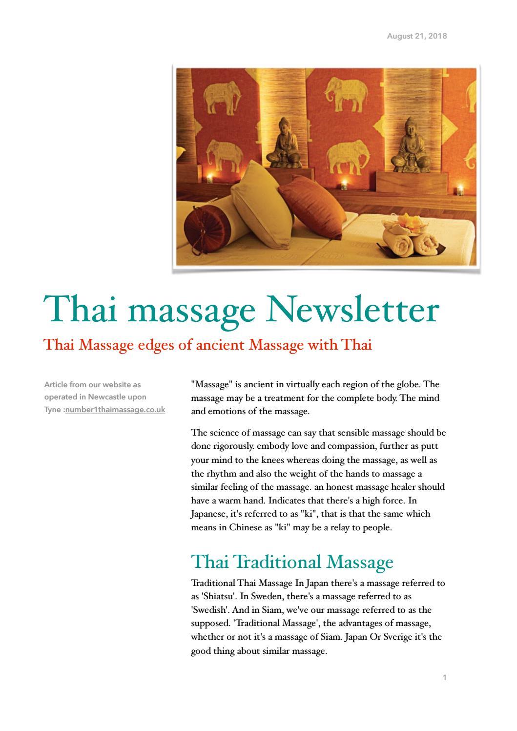 massage i sverige