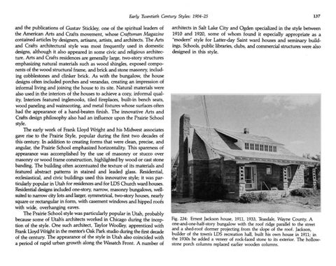 Page 145 of Utah's Historic Architecture - Early Twentieth Century Styles 1904-1925