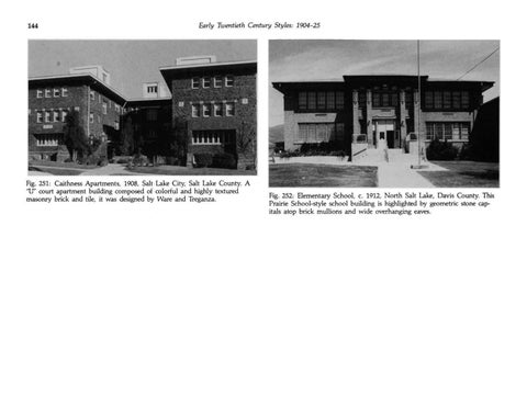 Page 152 of Utah's Historic Architecture - Period Revival Styles 1890-1940