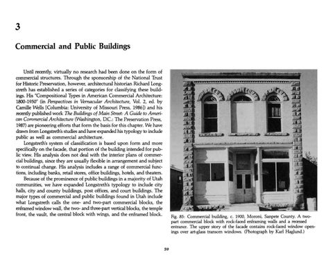 Page 67 of Utah's Historic Architecture - Commercial and Public Buildings