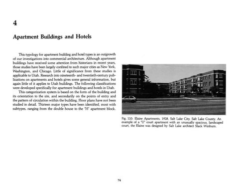 Page 82 of Utah's Historic Architecture - Apartment Buildings and Hotel Types 1847-1940