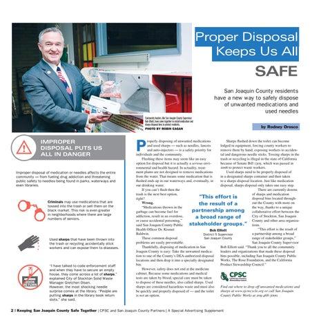 Page 2 of Proper Disposal Keeps Us All Safe