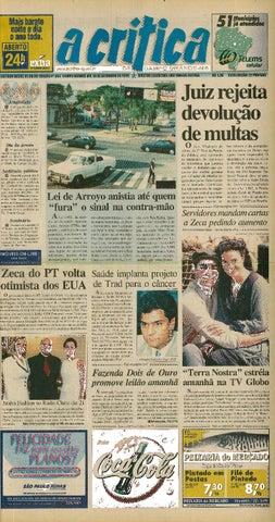 b80374e2f Jornal A Crítica - Edição 943 - 19/09/1999 by JORNAL A CRITICA - issuu
