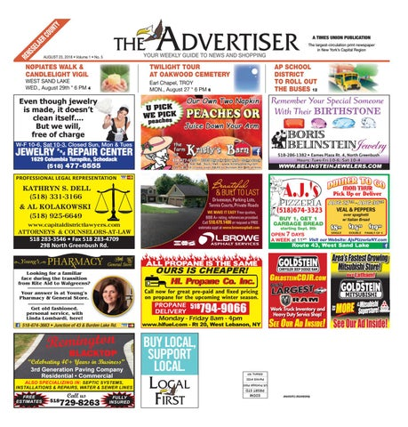 Local First The Advertiser 082318