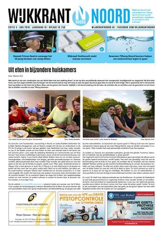 Wijkkrant Noord Editie 5 2018 by Jasper Razenberg issuu