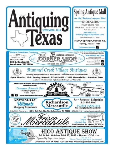 Antiquing Texas 9 18 By Antiquing Texas Issuu