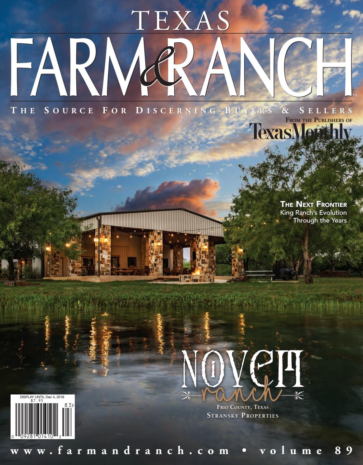 Texas Farm Ranch Vol 89 By Farm And Ranch Publishing L L C Issuu