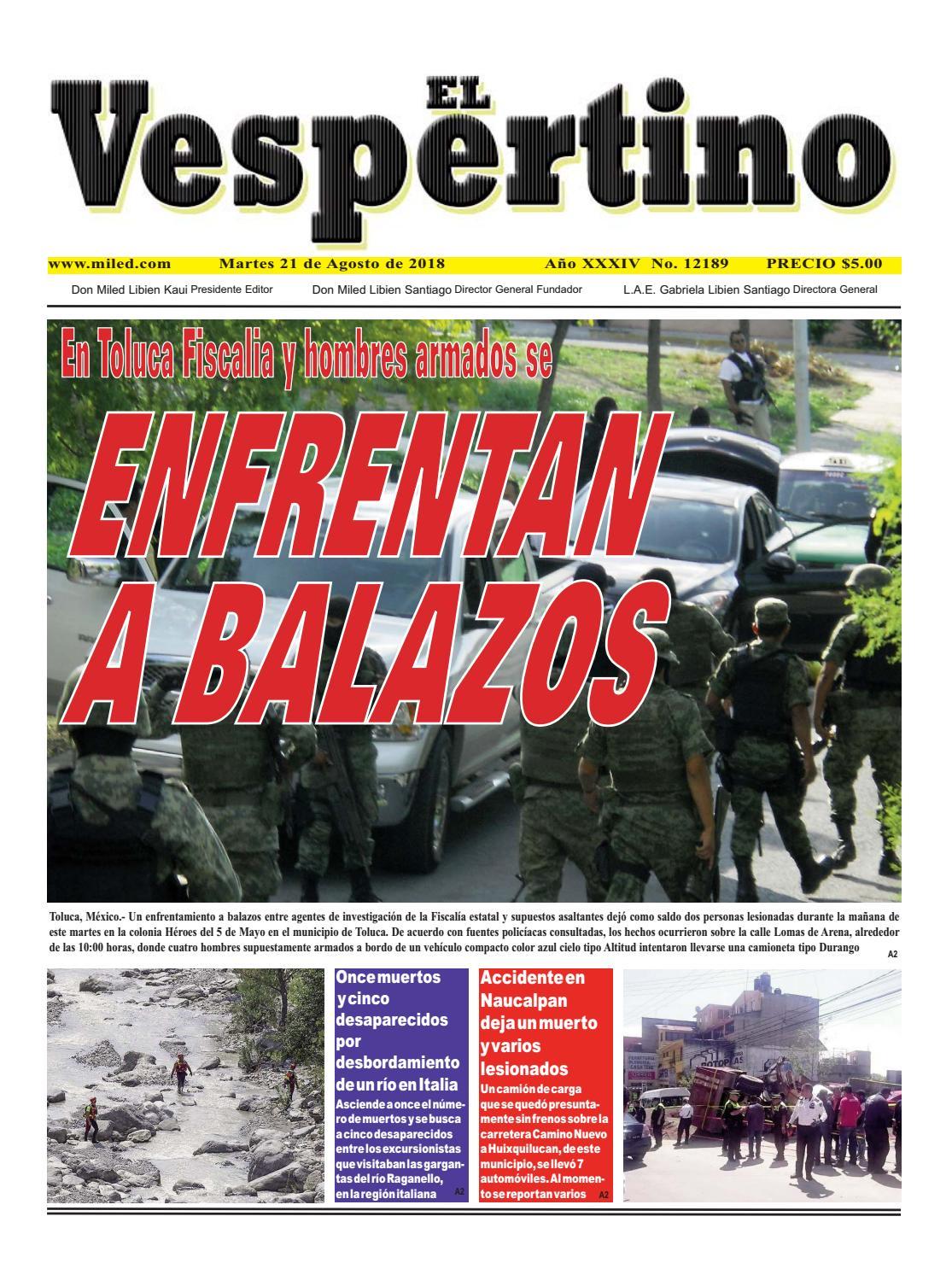 EL VESPERTINO by Grupo Miled - issuu