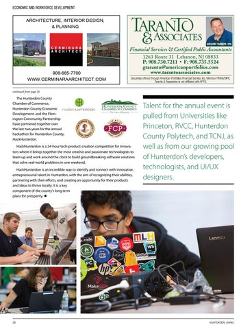 Page 30 of Hunterdon County Chamber of Commerce - Programs & Services