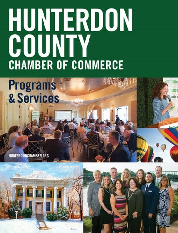 Page 31 of Hunterdon County Chamber of Commerce - Programs & Services