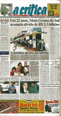 fb417741be Jornal A Crítica - Edição 946 - 10 10 1999 by JORNAL A CRITICA - issuu