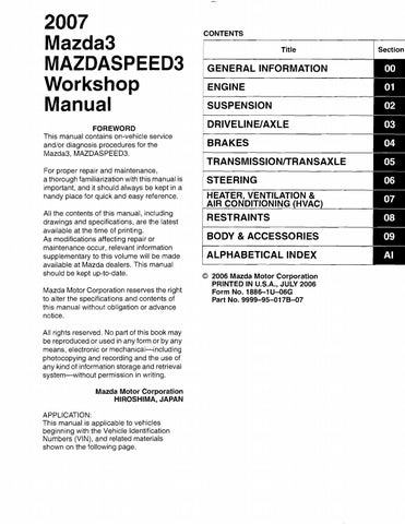 2008 mazda 3 service repair manual by 16326108 issuu  2008 mazda 3 engine diagram #14