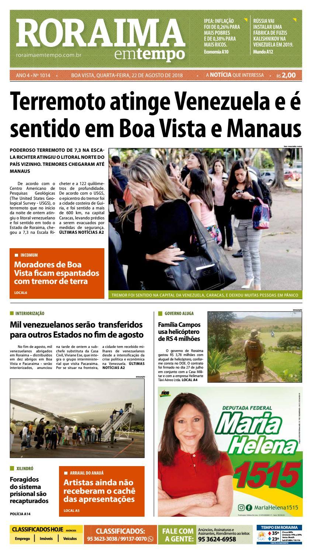 f40f4d5d579b03 Jornal Roraima em tempo – edição 1014 by RoraimaEmTempo - issuu