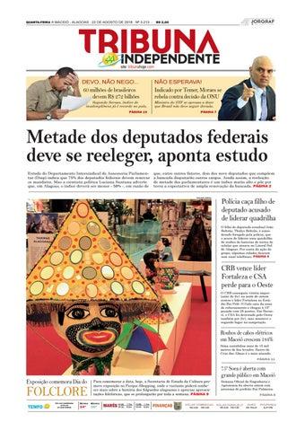Edição número 3213 - 22 de agosto de 2018 by Tribuna Hoje - issuu 8fa51897f2