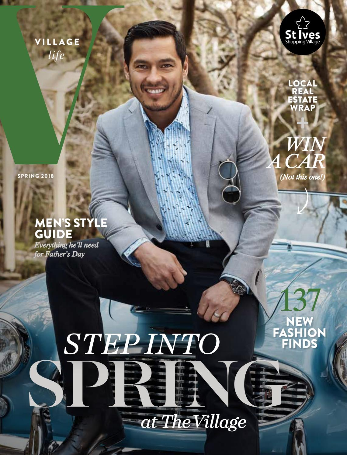 St Ives Village Live Magazine Spring 18 By Life Issuu Dr Kevin Women Boot Casual Shoes 4023 Navy 38
