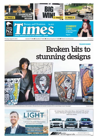 Botany And Ormiston Times August 23 2018 By Times Media