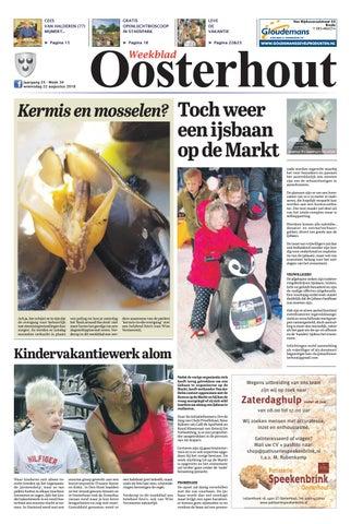 9f896fa477f7e3 Weekblad Oosterhout 22-08-2018 by Uitgeverij Em de Jong - issuu