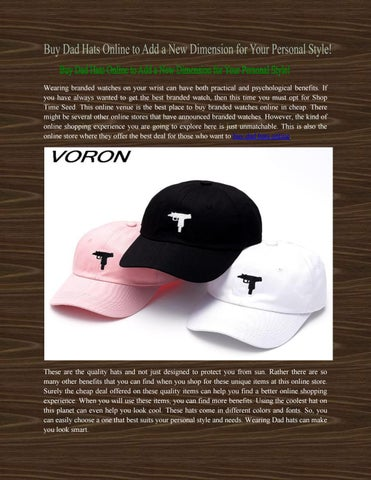 2ab8f34ba9e Buy Dad Hats Online to Add a New Dimension for Your Personal Style ...
