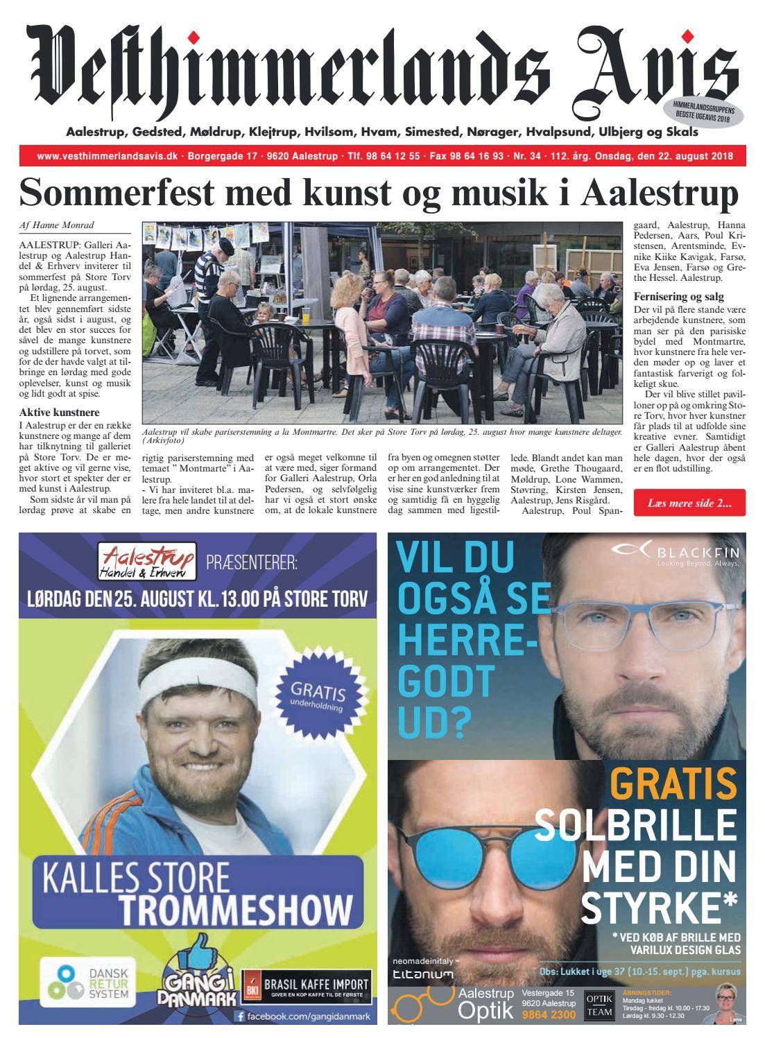 67fff973d24d Vesthimmerlands Avis nr. 34 - 2018 by Vesthimmerlands Avis - issuu