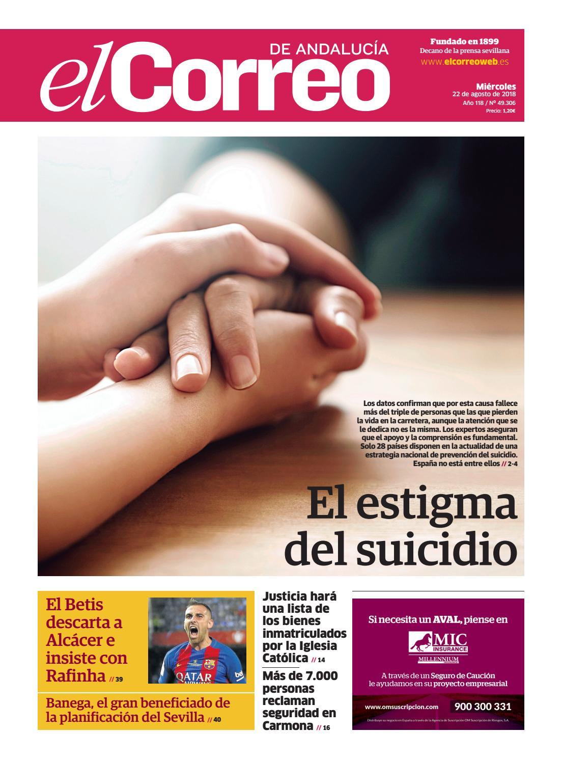 22.08.2018 El Correo de Andalucía by EL CORREO DE ANDALUCÍA S.L. - issuu