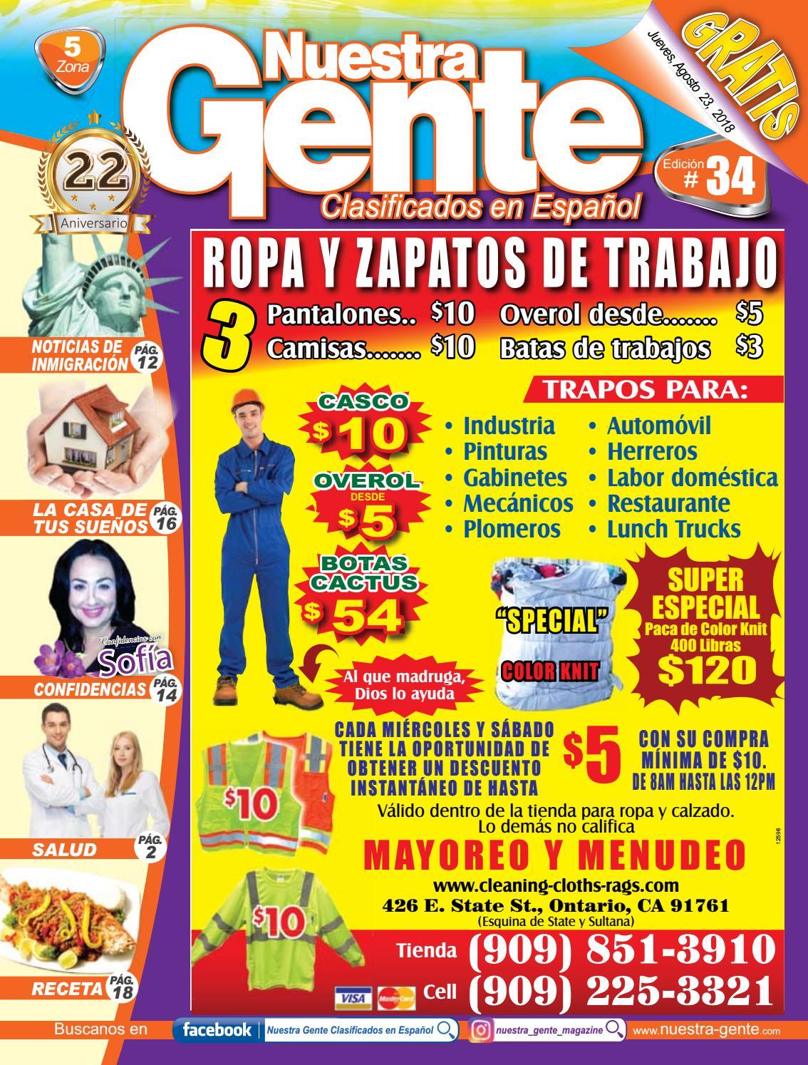 Nuestra Gente 2018 Edicion 34 Zona 5 by Nuestra Gente - issuu