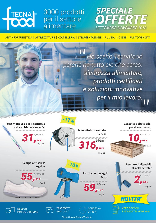 Catalogo Offerte Settembre-Novembre 2018 by Tecnafood - issuu 1bd12ee87cc