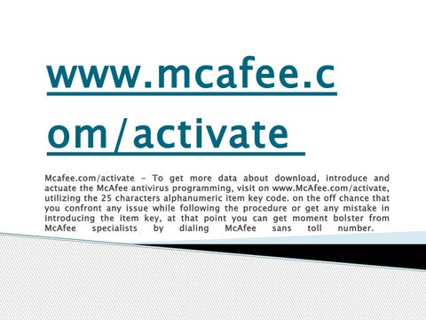 Mcafee epolicy orchestrator epo | mcafee products.