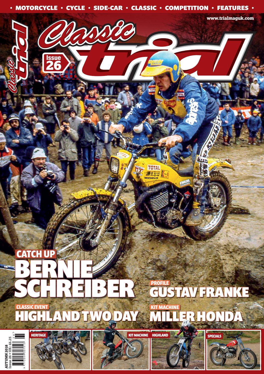 a4d2165e49c11 Classic Trial Magazine Issue 26 Autumn 2018 by Trials Media - issuu