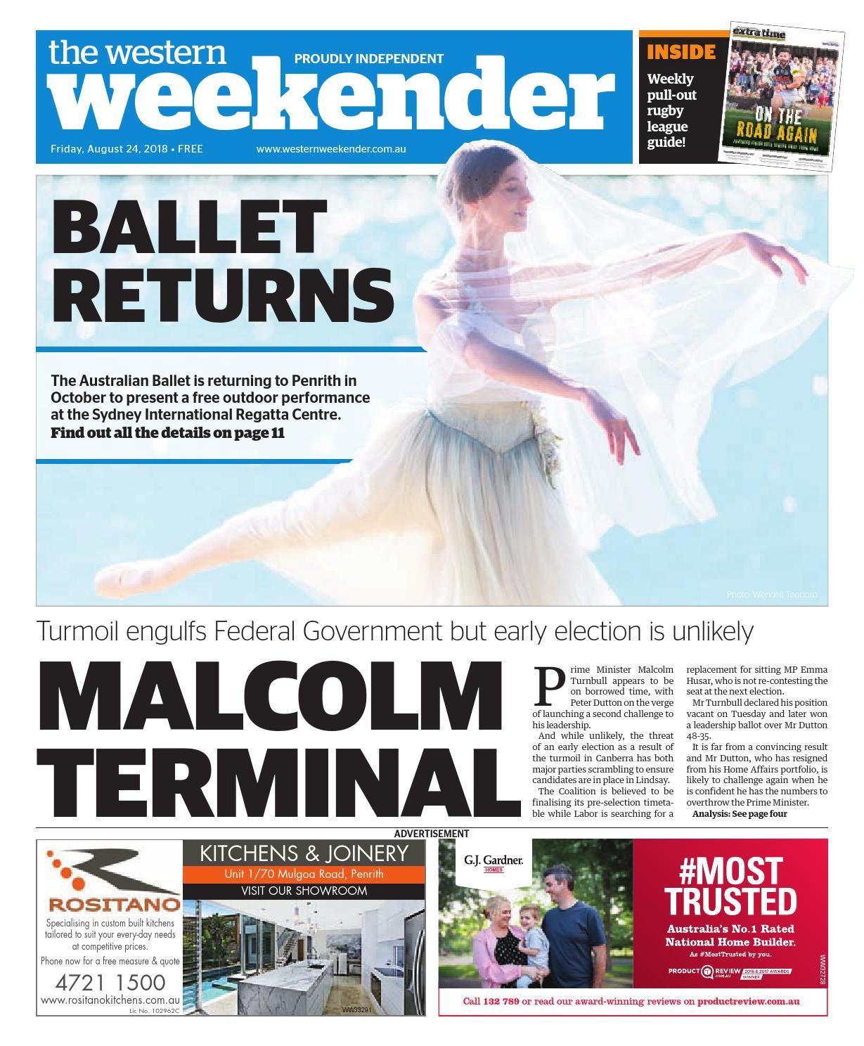 3604a75c5a31 Western Weekender August 24 by Western Sydney Publishing Group - issuu