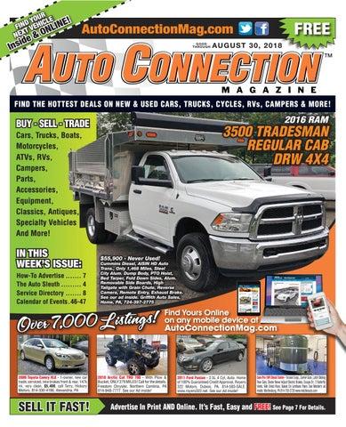 08-30-18 Auto Connection Magazine by Auto Locator and Auto
