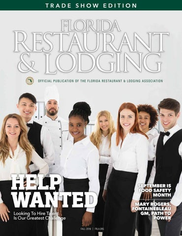 8bbebeab40 Florida Restaurant & Lodging Magazine Fall 2018 by Florida ...