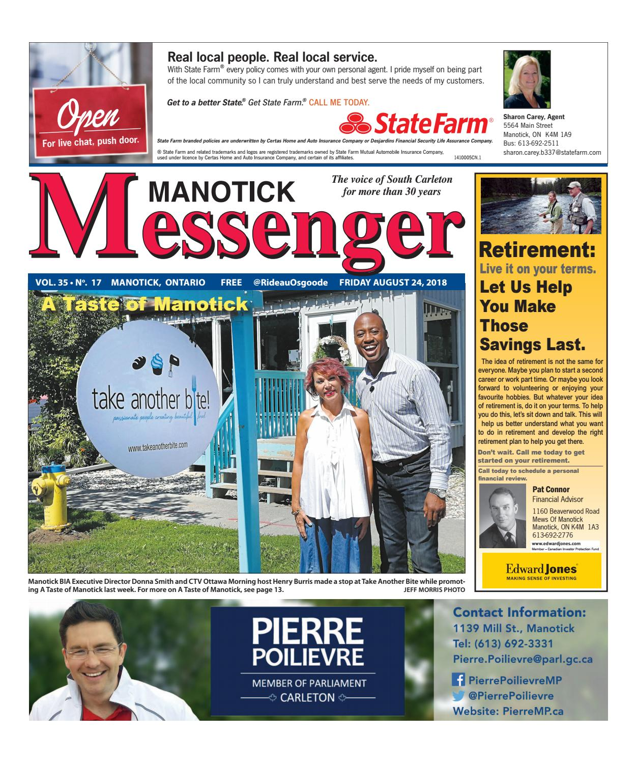 manotick messenger august 24 2018 by j morris issuu