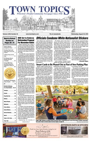 Town Topics Newspaper - August 22, 2018 by Witherspoon Media Group ... d23c930eb4b3