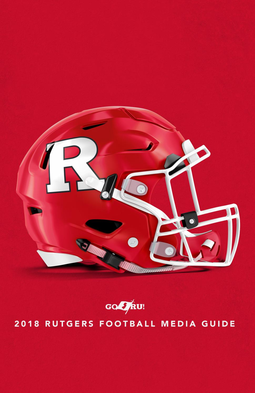2586f7985c90d 2018 Rutgers Football Media Guide by Rutgers Athletics - issuu