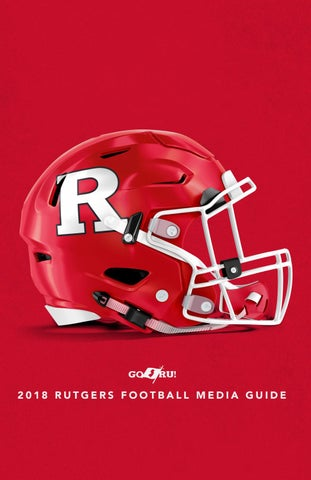 best website f17d1 91c17 2018 Rutgers Football Media Guide by Rutgers Athletics - issuu