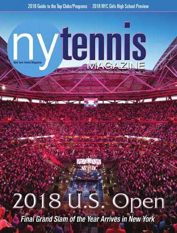 best website 5731c 8b0a7 NYTennisMag.com • September October 2018 • New York Tennis Magazine