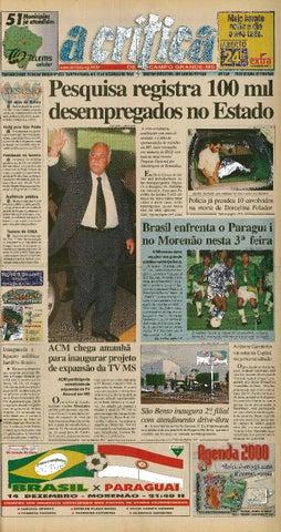 6bf541470e1dd Jornal A Crítica - Edição 955 - 12 12 1999 by JORNAL A CRITICA - issuu