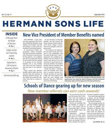 d840269af9 September 2018 by Hermann Sons Life - issuu