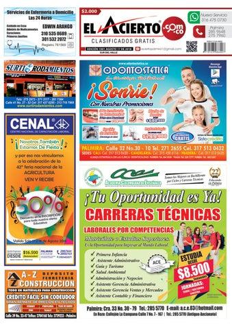PALMIRA 1001 - 17 de agosto 2018 by El Acierto - issuu 476e9f3d9b9