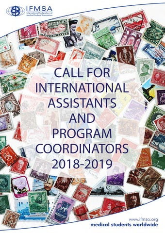 Call For Ifmsa International Teams And Program Coordinators 2018