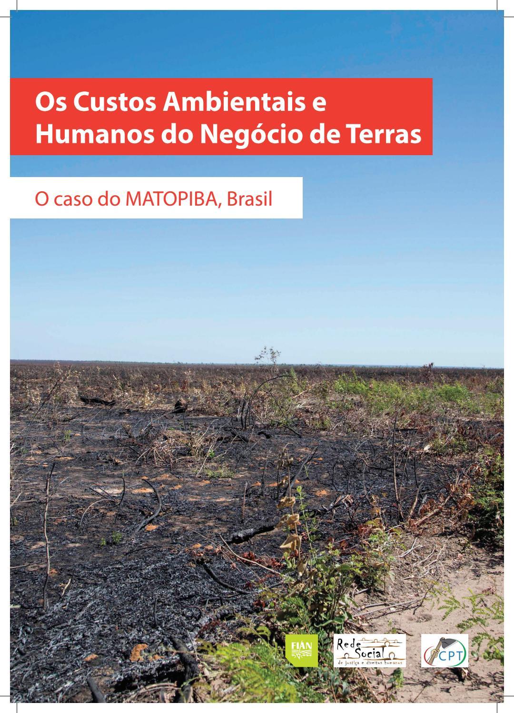 ce259af83c Relatório  Os Custos Ambientais e Humanos do Negócio de Terras by ONG FASE  - issuu